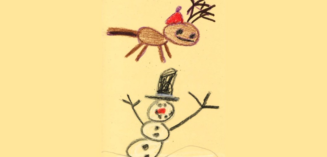2016 Christmas Card Winners - Anthony Bruno, San Jacinto Elementary