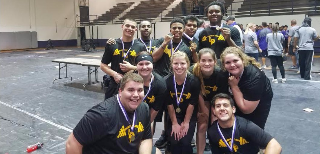 The Liberty Panther Powerlifting team traveled to Tarkington to compete.