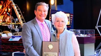 Sallie Chastain  Presented ACEA 2016 Charles Stewart Mott Award