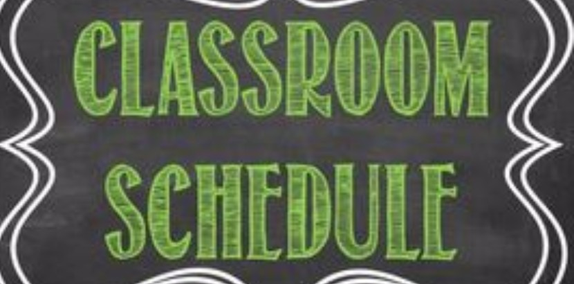 Language Arts Class Schedule