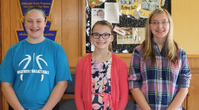 2016-2017 Students of the Month