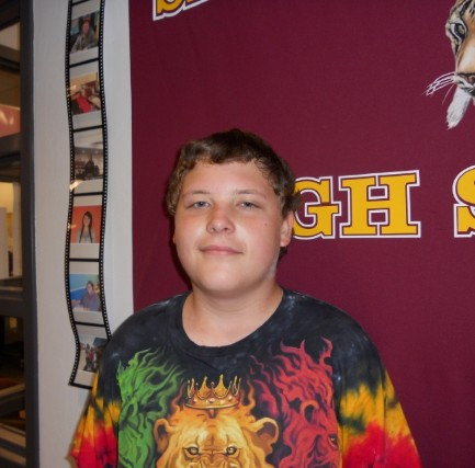 August 2014 Student of the Month