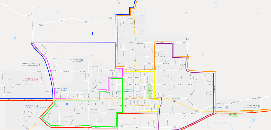 BoE District Map