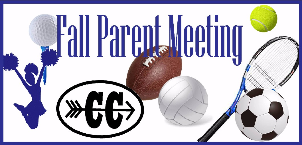 Fall Sports Parent Meeting & Physicals