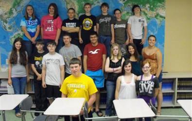 2011-2012 7th Grade Champions - 4th Period