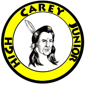 Image of the Carey Junior High logo.
