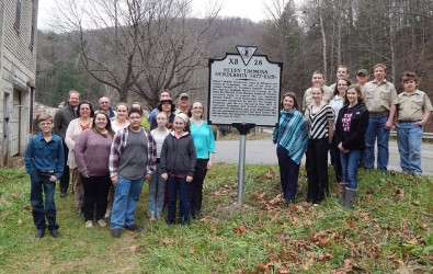 Helen Henderson Historic Marker Dedication