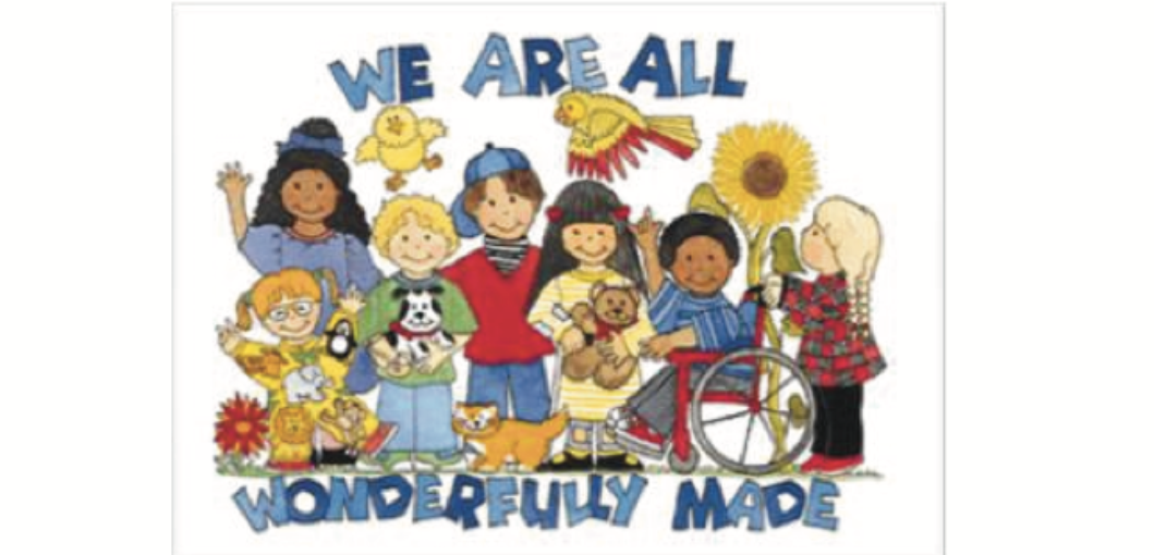 We are all wonderfully made graphic