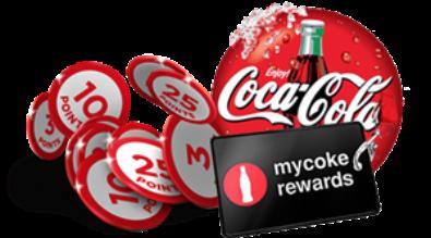 Coca cola reqards logo