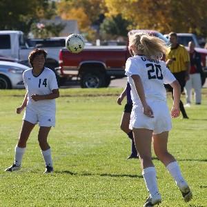 Girls Soccer Going for Gold