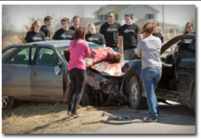 Mock Accident demo