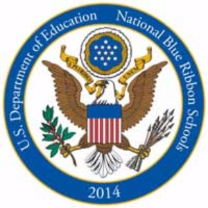 U.S. Department of Education Blue Ribbon graphic