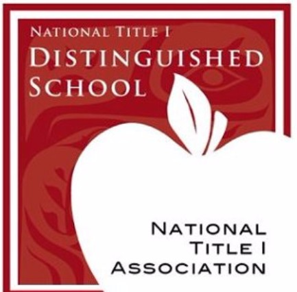 National Title 1 Distinguished School graphic