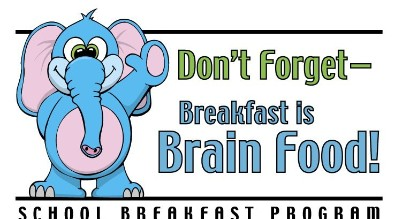 Don't forget breakfast is brain food