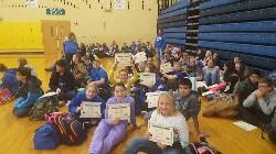 jr high certificates