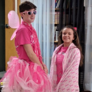 pink king and queen