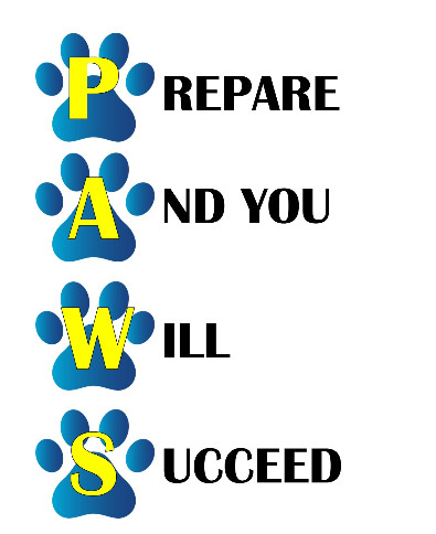 Graphic for PAWS testing Prepare And you Will Succeed