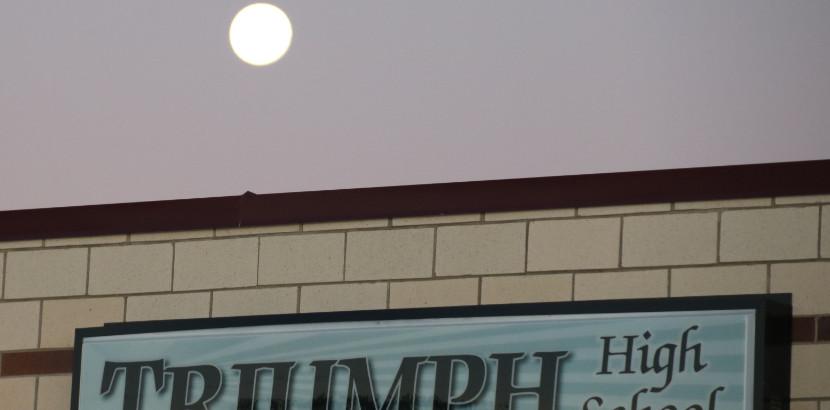 The Super Moon Over Triumph