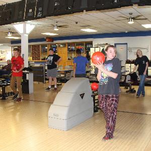 Megan just loves to bowl