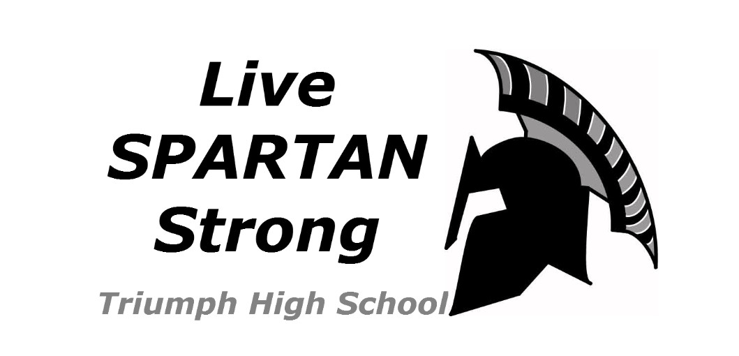 Graphic of the Triumph High School logo