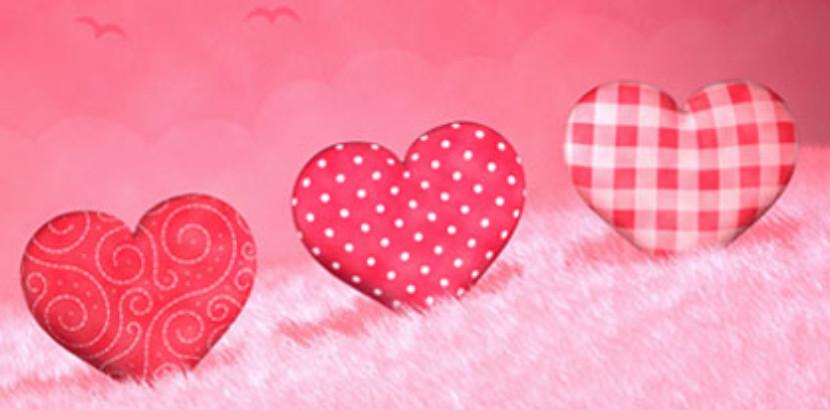 "Graphic that says ""Happy Valentine's Day"""