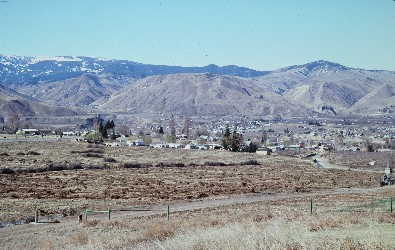 Wenache Valley landscape photo