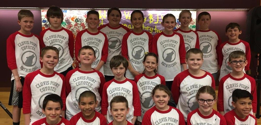 (May 2017 Newsletter) Math Is Cool at Clovis