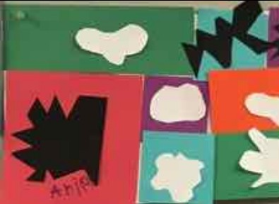 "example of a ""Matisse"" style collage"