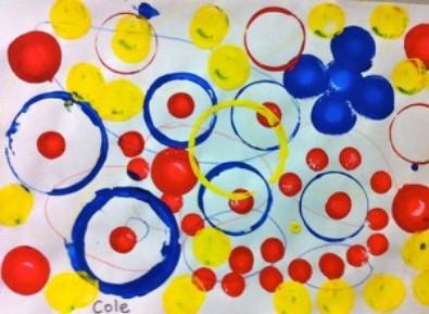 photo of printed circles