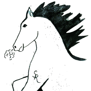 Saddle Ridge Elementary logo Stallion