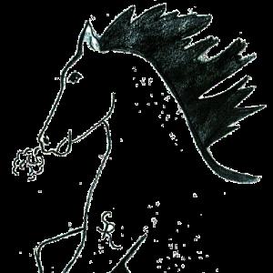 Saddle Ridge Elementary logo Stallion