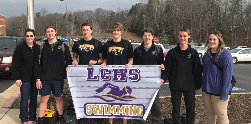 2017 State Swim Team