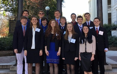 Mock Trial Competes at Region