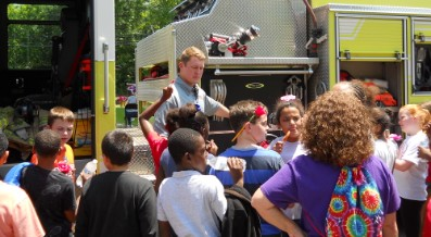 "LAFAYETTE LANIER ELEMENTARY HOSTS FIRST ""CAREER DAY"""