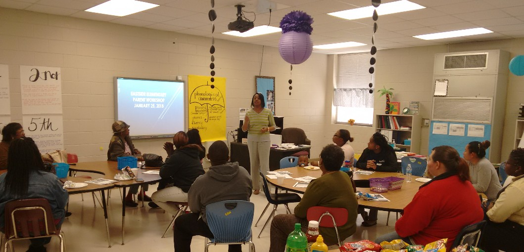 EASTSIDE ELEMENTARY CONDUCTS PARENT DEVELOPMENT WORKSHOP