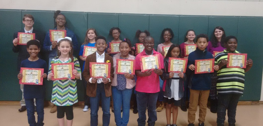FIVE POINTS STUDENTS INDUCTED TO NATIONAL JUNIOR HONOR SOCIETY
