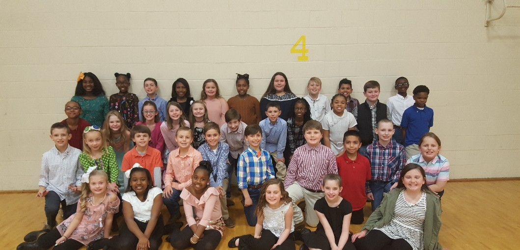 HUGULEY ELEMENTARY STUDENTS INDUCTED TO NATIONAL HONOR SOCIETY