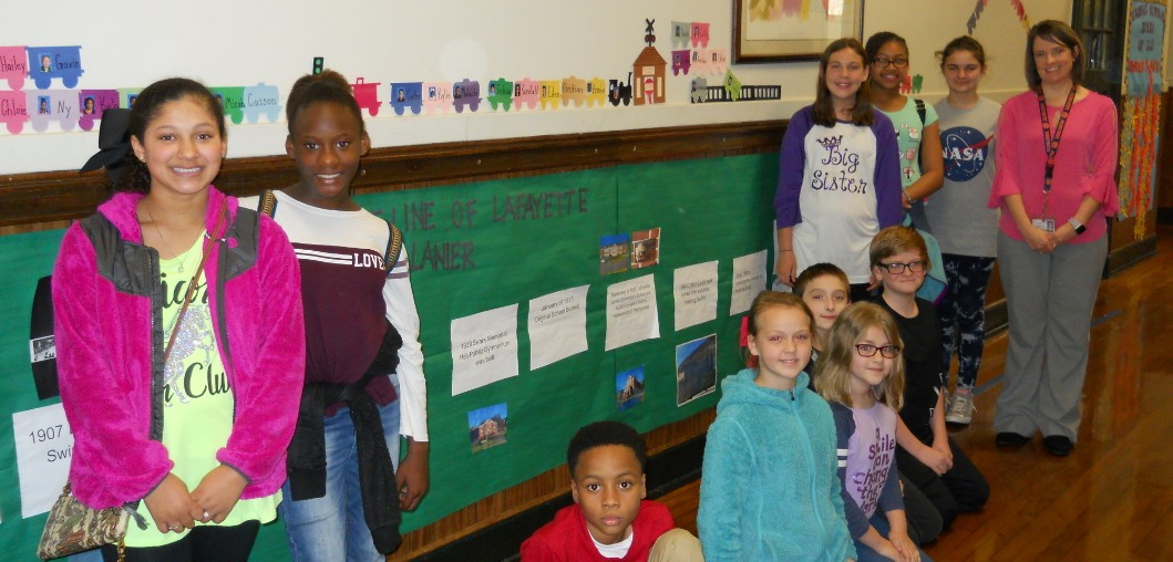 FIFTH-GRADERS MASTER THE USE OF GRAPHIC SOURCES