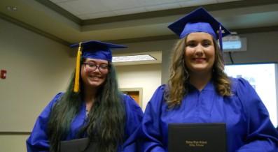SCHOOL BOARD HONORS MID-YEAR GRADUATES