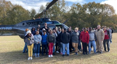 """STUDENTS ENJOY """"TOUCH-A-TRUCK"""" DAY AT FIVE POINTS SCHOOL"""