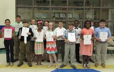 M.C.E.S.  National  Elementary Honor Society Ceremony