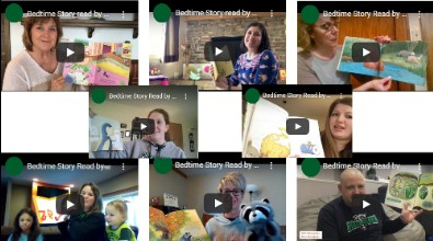 Bedtime Stories Read by WEM Teachers, Staff, and Students