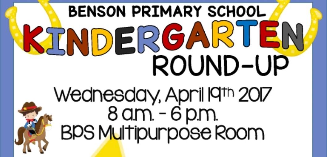 Kindergarten Round-Up 2017