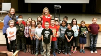 News Channel 7's Christy Henderson visits Hickory Tavern School