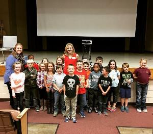 News Channel 7's Christy Henderson visits Hickory Tavern School