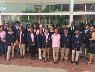 Students Visit SC Philharmonic