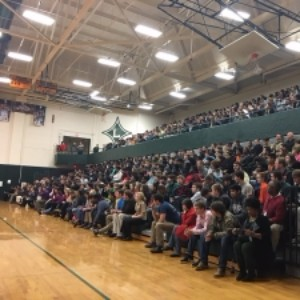District 55 Superintendent Shows Support for LDHS Student Body