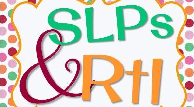 SLP RtI Forms