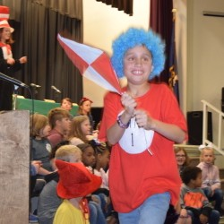 Color Photo of Student as Thing 1