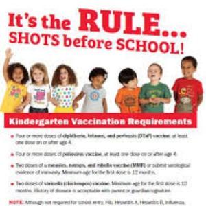 Kindergarten Vaccination Requirements
